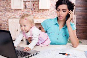 Praca na urlopie wychowawczym