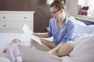 Praca na urlopie macierzyńskim